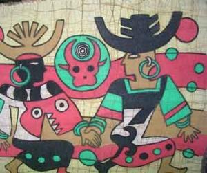 蜡染之乡苗族独特手工绘染艺术