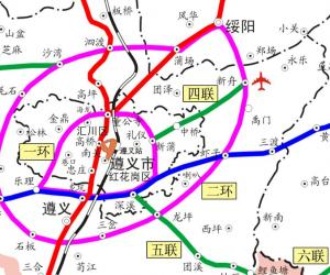 遵义市骨架公路网规划布局方案编制完成 高速2环经过绥阳