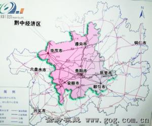 黔中经济腾飞(1):巨型城市集群将强势崛起