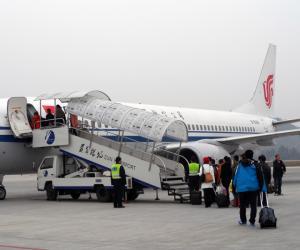 贵州省民航机场旅客吞吐量呈现井喷