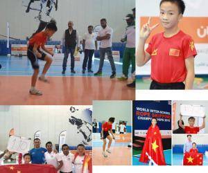 绥阳籍打工子弟岑小林打破两项跳绳世界纪录